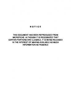 notice this document has been reproduced from ...
