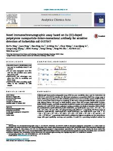 Novel immunochromatographic assay based on Eu (III)