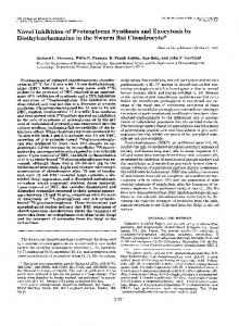 Novel Inhibition of Proteoglycan Synthesis and Exocytosis by ...