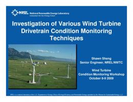 NREL Power point slide template - NWTC Information Portal
