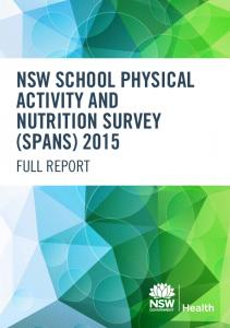 nsw school physical activity and nutrition survey