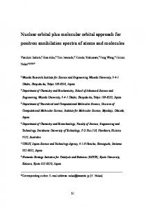 Nuclear orbital plus molecular orbital approach for