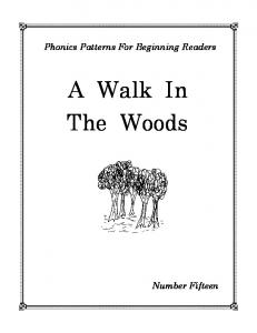 Number 15 - A Walk In The Woods - Sound City Reading