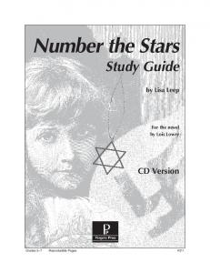 Number the Stars - Rainbow Resource Center