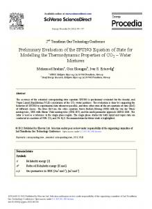 Numerical Investigation of the Sorption Enhanced ...