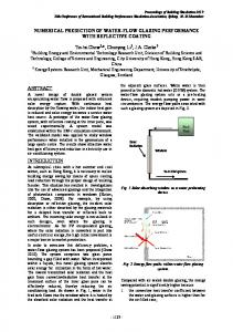 NUMERICAL PREDICTION OF WATER-FLOW GLAZING ... - IBPSA