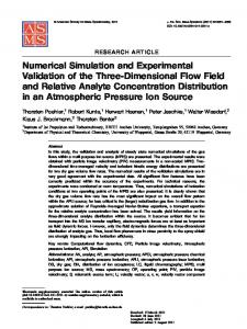 Numerical Simulation and Experimental Validation of ... - Springer Link