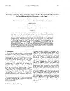 Numerical Simulation of the Interaction between the Sea ... - CiteSeerX
