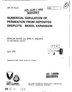 numerical simulation of