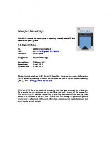 Numerical treatment for investigation of squeezing