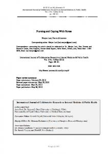 Nursing and Coping With Stress