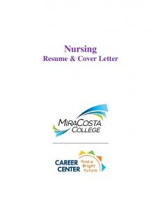 Nursing Resume & Interview Packet