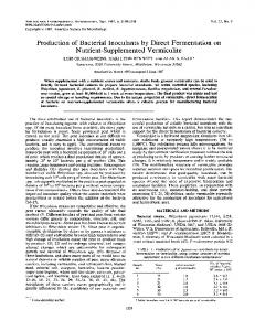 Nutrient-Supplemented Vermiculite - Applied and Environmental ...