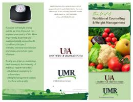 Nutritional Counseling And Weight Management Program
