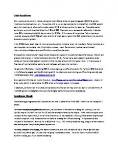 OBD Readiness Readiness Check