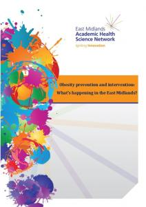 Obesity prevention and intervention: What's ... - Nottingham ePrints