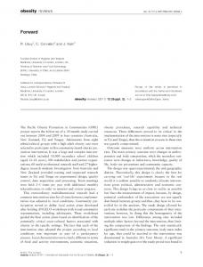 obesity reviews - Wiley Online Library