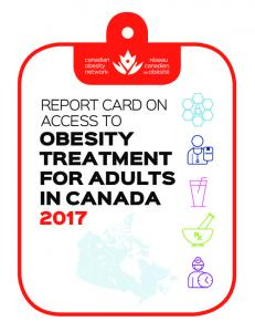 obesity treatment for adults in canada 2017 - Canadian Obesity Network