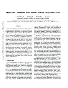 Object-Scene Convolutional Neural Networks for Event Recognition in ...