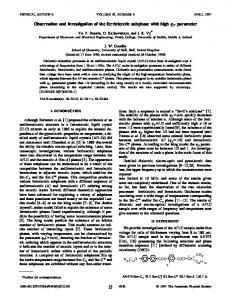 Observation and investigation of the ferrielectric subphase with high ...