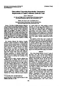 Observations Concerning Reproductive ... - Wiley Online Library