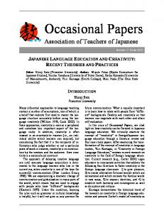 Occasional Papers
