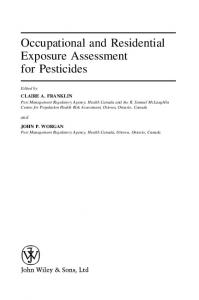 Occupational and Residential Exposure Assessment