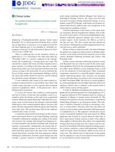 Occupational koebnerization of psoriasis ... - Wiley Online Library