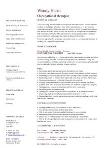 Housekeeper cv template dayjob mafiadoc occupational therapist cv template dayjob pronofoot35fo Gallery
