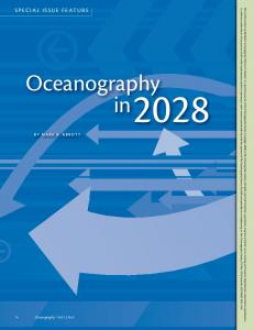 Oceanography in - Oregon State University