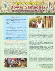 Oct - Indian Institute of Millets Research