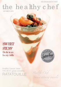October healthy chef magazine - The Healthy Chef