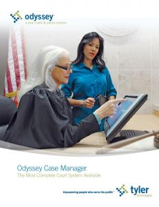 Odyssey® Case Manager - Tyler Technologies