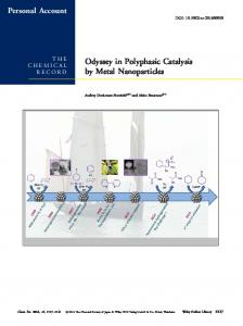 Odyssey in Polyphasic Catalysis by Metal ... - Wiley Online Library