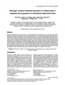 Oestrogen receptormediated expression of ... - Wiley Online Library