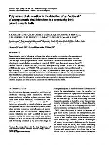 of asymptomatic viral infections in a community birth cohort in