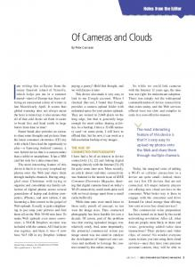 Of Cameras and Clouds - IEEE Xplore