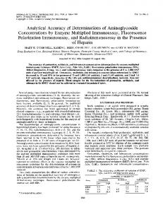 of Heparin - Journal of Clinical Microbiology - American Society for ...