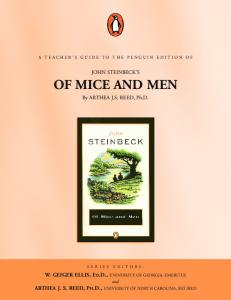 Of Mice and Men TG - Penguin Group