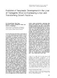 of Transgenic Mice Co-Expressing c-myc and ... - Europe PMC