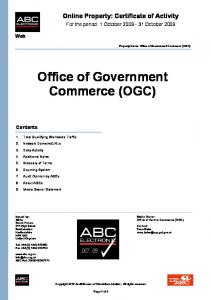 Office of Government Commerce (OGC) - ABCe