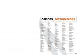 OFFICES / DISTRIBUTORS - Pearson Longman