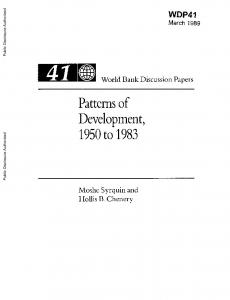 Official PDF , 118 pages - World Bank Documents & Reports