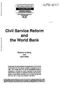Official PDF , 55 pages - World bank documents - World Bank Group