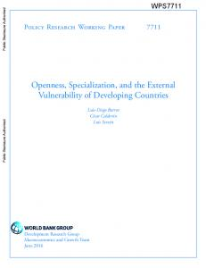 Official PDF , 57 pages - World bank documents