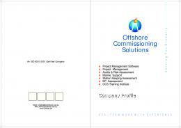 Offshore Commissioning Solutions