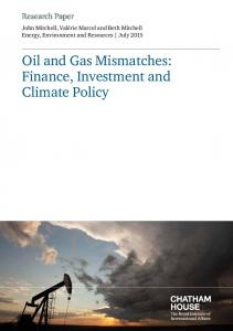 Oil and Gas Mismatches - Chatham House