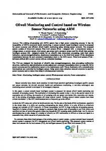 Oilwell Monitoring and Control based on Wireless Sensor Networks ...