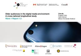 Older audiences and digital media - Ageing + Communication + ...
