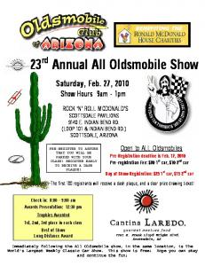 Oldsmobile Car Show